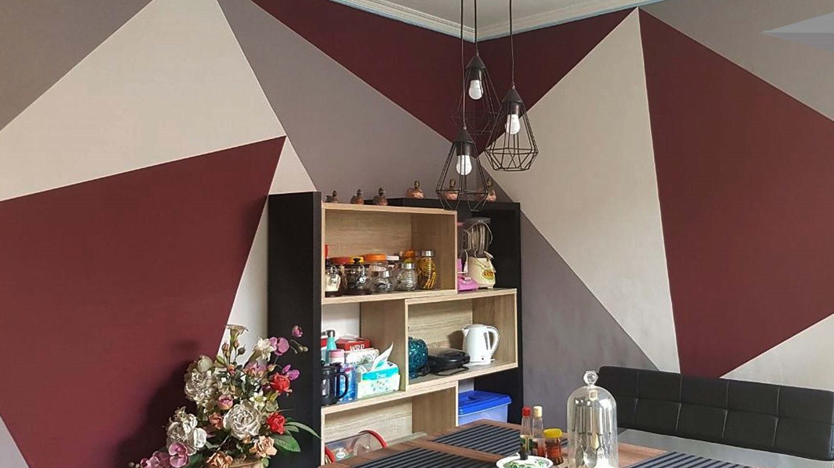 Ekspresikan ide dengan pemasangan custom wallpaper untuk ruangan favorite